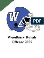 2007 Woodbury Football Playbook