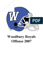 2007 Woodbury Football Playbook
