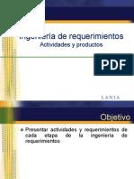 ISW-IngRequerimientos-Actividades-Productos