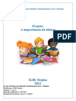 Projeto a Importância Da Leitura