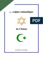 Hanna Zakarias_Nitoglia Curzio - L'Origine Talmudique de l'Islam