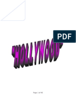 Term Paper on Hollywood