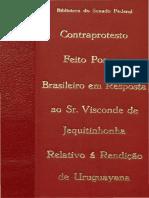 Uruguayana_Contraprotesto Ao Senador Jequitinhonha
