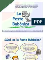 PESTE BUBÓNICA Y NEUMÓNICA