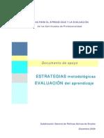 Documento de apoyo estrategias y evaluacion diciembre 2009