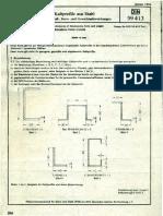 DIN 59413 Ladni profili od celik