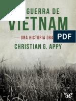 Appy, Christian-La guerra de Vietnam. Una historia oral