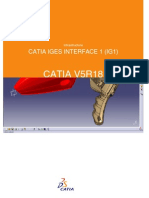CATIA IGES INTERFACE 1 (IG1)