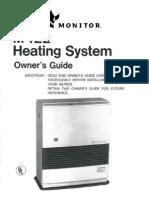 MPI Monitor 422 Heater Manual