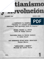Cristianismo y Revolucion (Organo de Difusion de Montoneros)