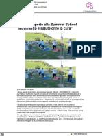 Iscrizioni aperte alla Summer School Movis - Vivereurbino.it, 11 giugno 2021