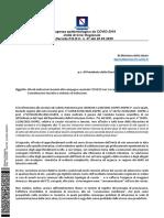 Mix vaccini Covid Campania Nota Ministro Salute 13-6-2021