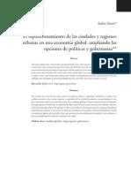Sassen, Saskia - El Reposicionamiento de Las Ciudades y Regionaes Urbanas en Una Economia Global Ampliando Las Opciones de Politicas y Gobernanza