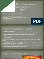 INTRODUCCIÓN DE LA UNIDAD 1 OCTAVO BÁSICO A-B-C