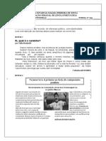 Avaliação de lingua portuguesa 7 ano