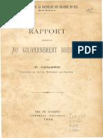 Amélioration de La Barre de Rio Grande Do Sul Brésil - Rapport Present Au Governement Brésilien
