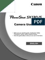 Manual SX130 Canon Photo