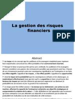La Gestion Des Risques Financiers v6
