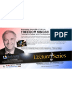 Freedom Sings Resorter Lecture