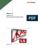 ASpect LS Software Für Atomabsorptionsspektrometer