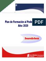 FORMACION AL PODER POPULAR GGDS 2020