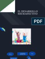 El desarrollo socioafectivo