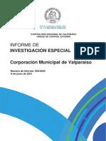 Informe Final de Investigación Especial 500-20 Corporación Municipal de Valparaíso Sobre Concursos Públicos Para Directores de Establecimientos Educacionales-junio 2021 (1)