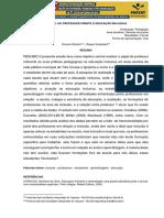 O PAPEL DO PROFESSOR FRENTE Á EDUCAÇÃO INCLUSIVA