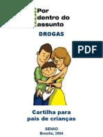 Cartilha sobre drogas para os pais