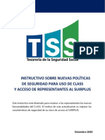 INSTRUCTIVO DE CLASS TSS