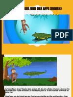 Das Krokodil und der Affe (Indien)