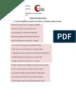 Ejercicios de Gramática y ortografía Alumno Jonathan Trejo