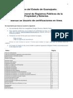 Manual de Usuario Registro Público de la Propiedad Guanajuato