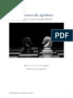 Torneo de Ajedrez - Cassano