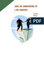 Techniques de négociation et gestion de conflits
