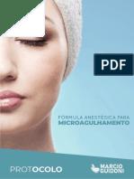 PROTOCOLO FORMULA ANESTÉSICA PARA MICROAGULHAMENTO