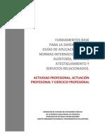 FDM Actividad Profesional