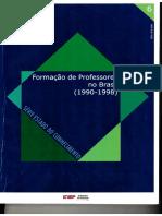 formaçao de profissionais da educação 1990-1998
