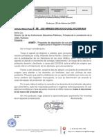OFICIO MULTIPLE N° 08-2021-DIR -OXIGENO MAGISTERIAL - 2