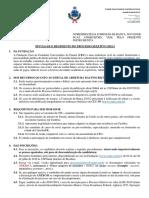 Edital nº 01.2019.2 - Abertura