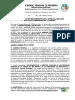 Convenio m. Inter- Muni. Provi - Andahuaylas