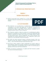 EOP 1.2 Sistema Presupuestal