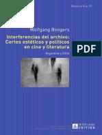 Bongers. Interferencias de Archivo