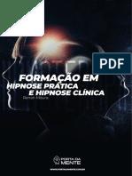 Apostila Curso Hipnose Prática e Hipnoterapia Curso EAD