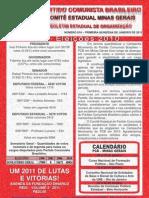 Boletim 018-2011 - 1ª Quinzena de Janeiro