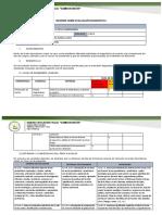 Informe de Diagnostico Primero de Bachillerato 2021 2022