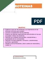 ESTRUCTURA, CLASIFICACION, PROPIEDADES PROTEINAS Y AA (1)