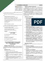 Ley de Reasentamiento Poblacional Para Zonas de Muy Alto Rie Ley n 29869 794288 2