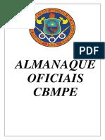 Almanaque Oficiais BM