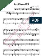 Soom B2ST Piano Sheets